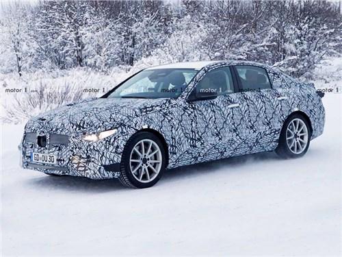 Новый Mercedes C-Сlass проходит зимние испытания