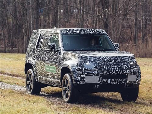 Land Rover раскрыл подробности о новом Defender