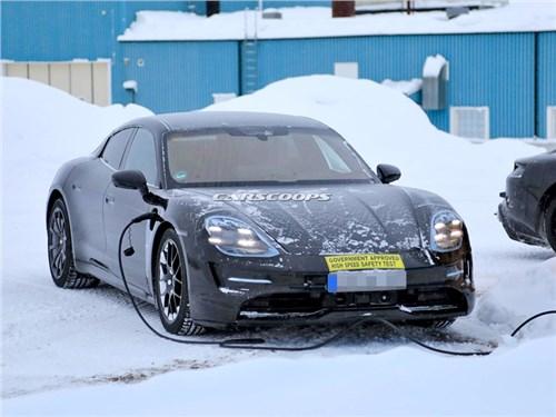 Новость про Porsche - Porsche Taycan 2019