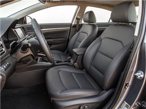 Предпросмотр hyundai elantra 2019 передние кресла