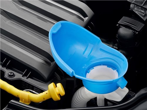 Новость про Skoda - В Skoda «разработали» уникальную горловину для омывающей жидкости