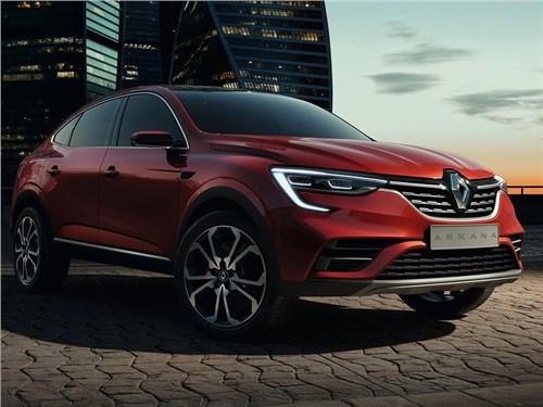 Renault раскрыла подробности о купе-кроссовере Arkana для России