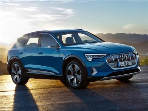 Новость про Audi e-tron - Audi e-tron 2020