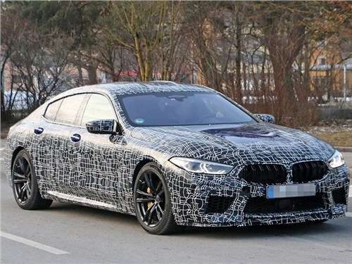 Новость про BMW M8 Gran Coupe - BMW M8 Gran Coupe