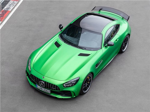 Mercedes AMG GT R Black Series будет «очень злым»