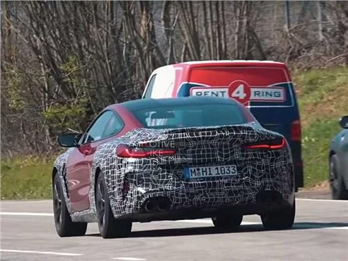 """BMW M8 с минимальным камуфляжем застали на """"Нордшляйфе"""""""