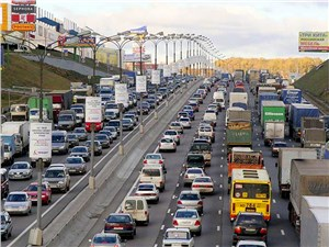 Штраф за проезд грузовиков по МКАД увеличен вдвое
