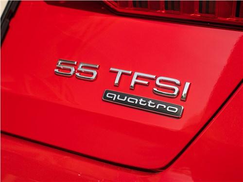 Предпросмотр audi a6 55 tfsi quattro 2019 шильдик