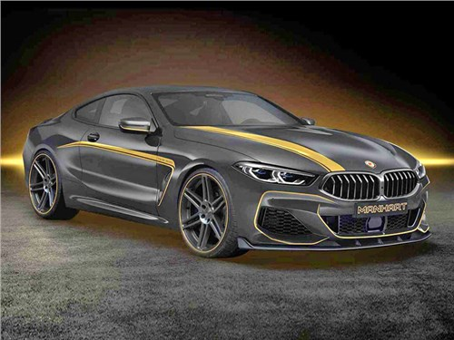 Новость про BMW 8 series - Manhart MH8 600