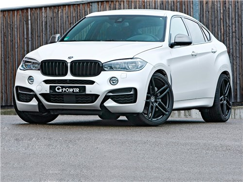 G-Power | BMW X6 M50d вид спереди