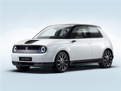 Новость про Honda - Honda e 2021
