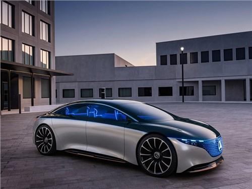 Mercedes-Benz представил седан EQS