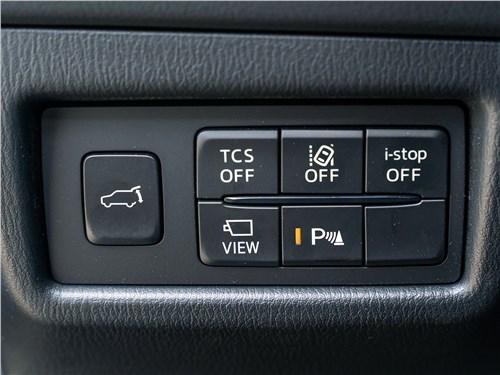 Mazda CX-5 2017 кнопки