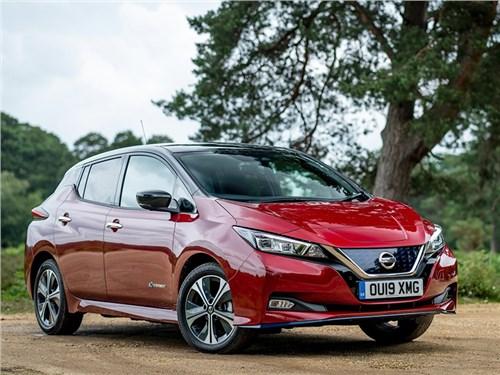 Новость про Nissan Leaf - Nissan Leaf e plus 2019