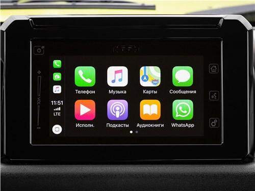 Suzuki Jimny 2019 сенсорный дисплей
