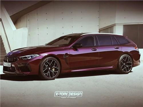 Представлен BMW M8 в кузове универсал