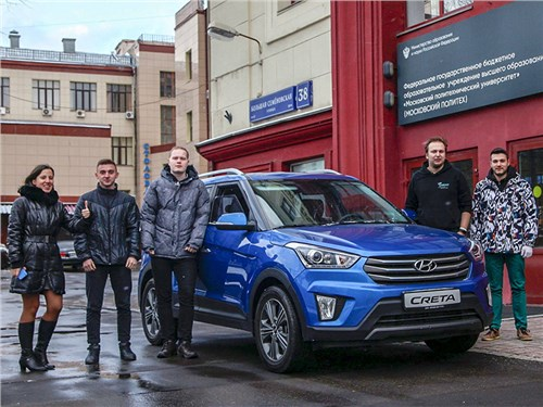 Студенты заставят Hyundai Creta ездить с помощью силы мысли