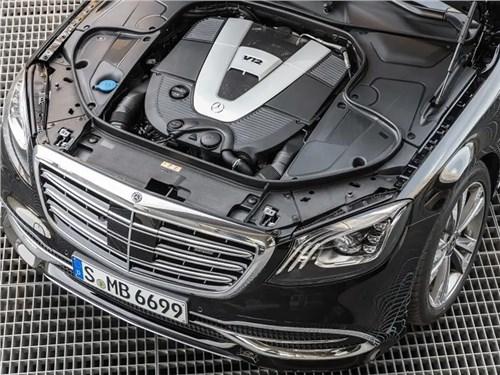 Новость про Mercedes-Benz S-Class - Mercedes-Benz сохранит двигатель V12 на новом S-Class