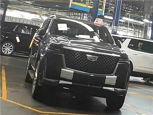 Шпионы засекли новый Cadillac Escalade