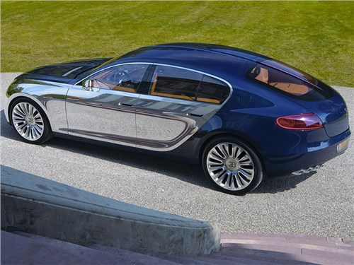 Новость про Bugatti - В Bugatti объяснили причины отказа от седанов
