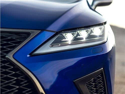 Lexus RX 2020 передняя фара
