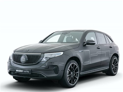 Новость про Mercedes-Benz - Brabus Mercedes-Benz EQC 400 4MATIC 2020