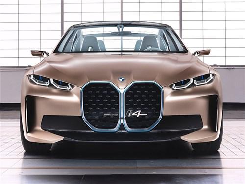 Новость про BMW - BMW i4 Concept 2020