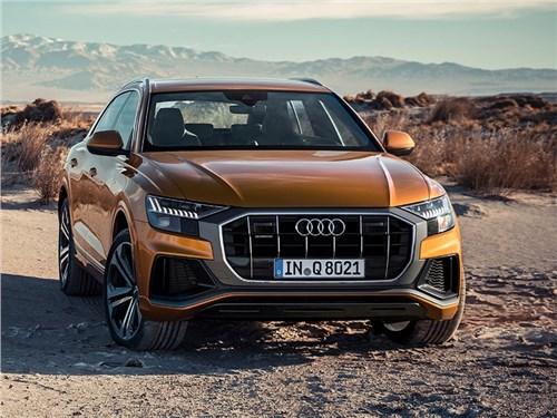 Audi отправит на сервис кроссоверы Audi Q7 и Q8 в России