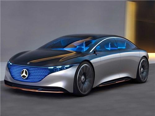 Электрофлагман Mercedes-Benz может стать мощнее AMG S 63