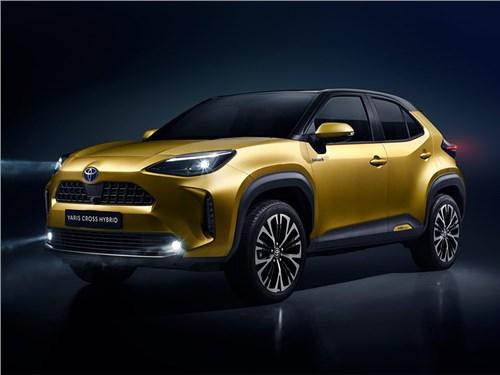 Новость про Toyota - Toyota Yaris Cross 2021