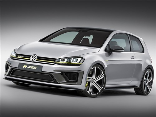 Volkswagen готовит гибридный 410-сильный Golf R+