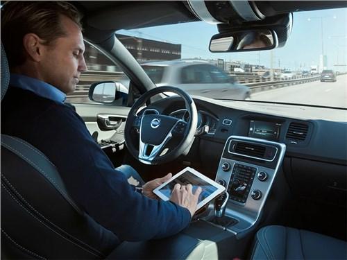 Беспилотники Volvo выйдут на дороги через два года
