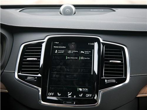 Volvo XC90 2020 центральная консоль