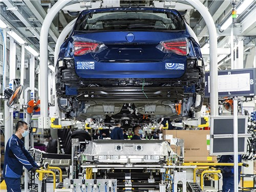 BMW запустит серийное производство iX3 до конца лета