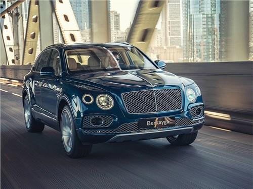 Новость про Bentley Bentayga - Дизайн обновленного Bentley Bentayga рассекретили до премьеры