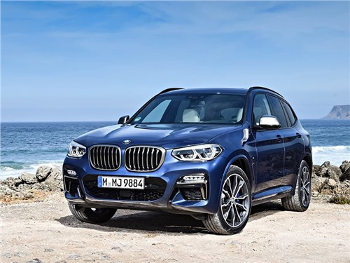 Новость про BMW - BMW X3 M40i 2018