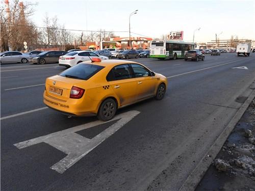В Москве таксистам запретят ездить по некоторым выделенным полосам