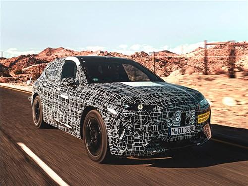 Новость про BMW - BMW рассказала о секретном электрическом кроссовере