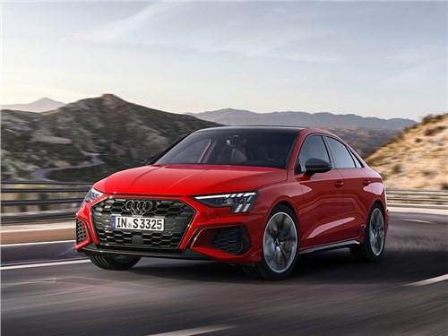 В Audi зарядили модель A3