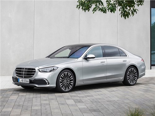 BMW ставит лайк новому S-Class