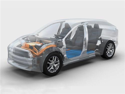 Новость про Toyota - Toyota раскрывает детали электрокроссовера