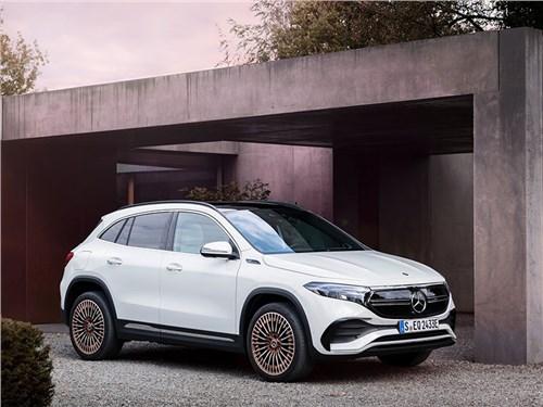 Новость про Mercedes-Benz - Mercedes-Benz EQA (2022)