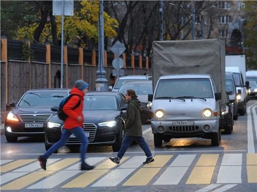Города России, где больше уважают пешеходов