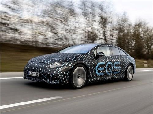 Новость про Mercedes-Benz - Mercedes-Benz EQS