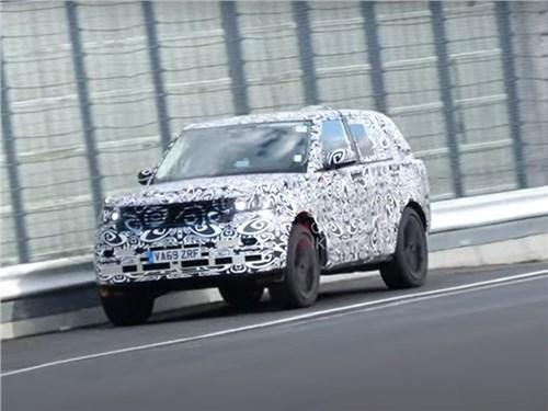 Новый Range Rover заметили на Нюрбургринге