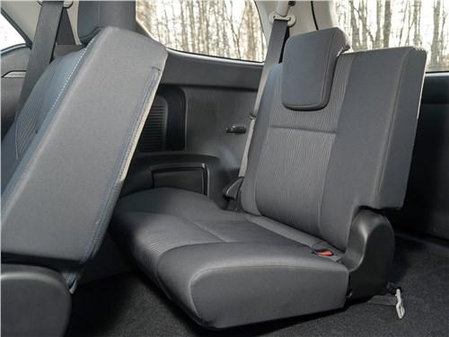 Toyota Fortuner (2021) третий ряд