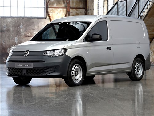 Volkswagen Caddy (2021) вид спереди
