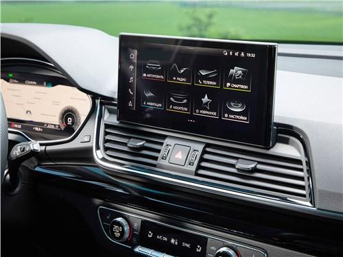 Audi Q5 (2021) монитор