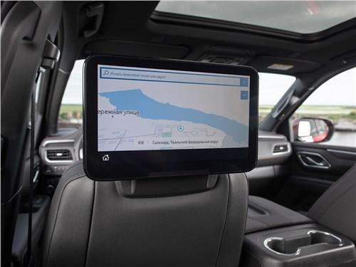 Chevrolet Tahoe (2021) монитор для задних пассажиров