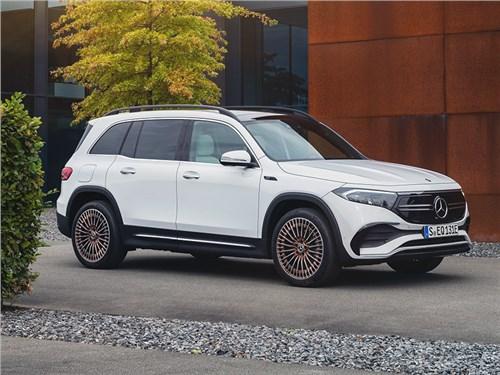 Новость про Mercedes-Benz - Mercedes-Benz EQB (2022)